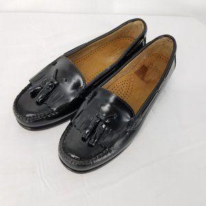 Bass Weejuns Womens Washington Black Loafers 7M